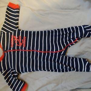 Baby onesie pajamas